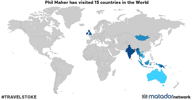 Phil mahers travel map matador network phil mahers travel map gumiabroncs Choice Image
