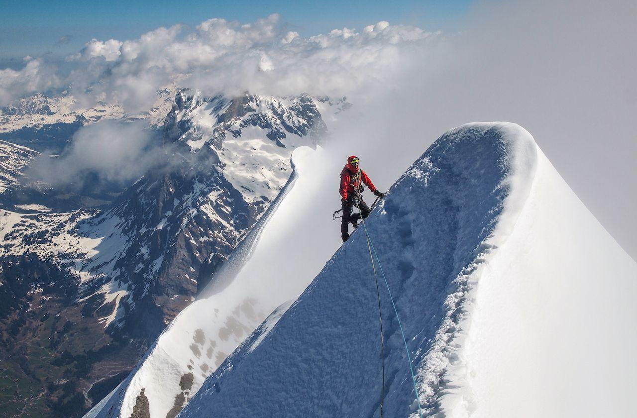 The Eiger hardest mountain to climb