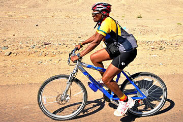 Meet a 72-year-old triathlete: Alpha Bennett