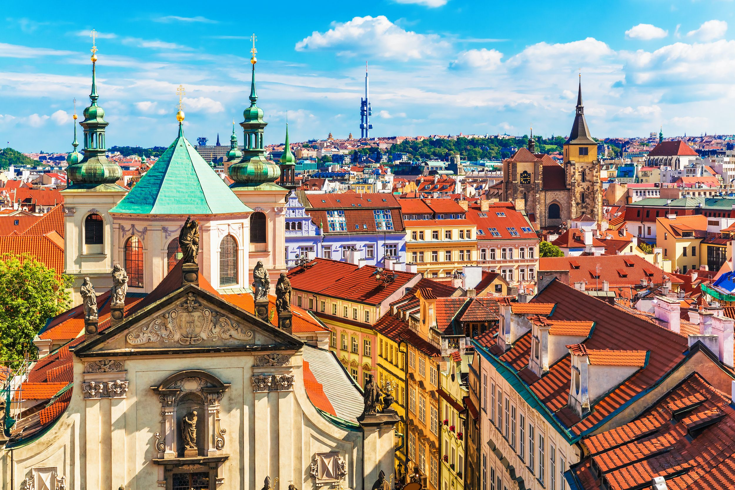 Prague-Czech-Republic-Aerial-view
