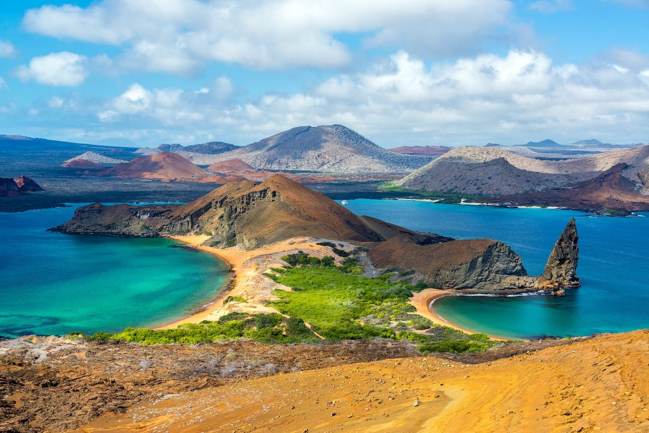 Galapagos Island Ecuador landscape destinations