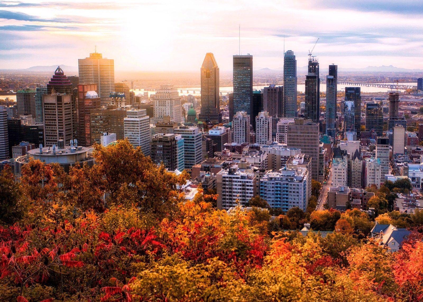 Montreal Canada cityscape destination
