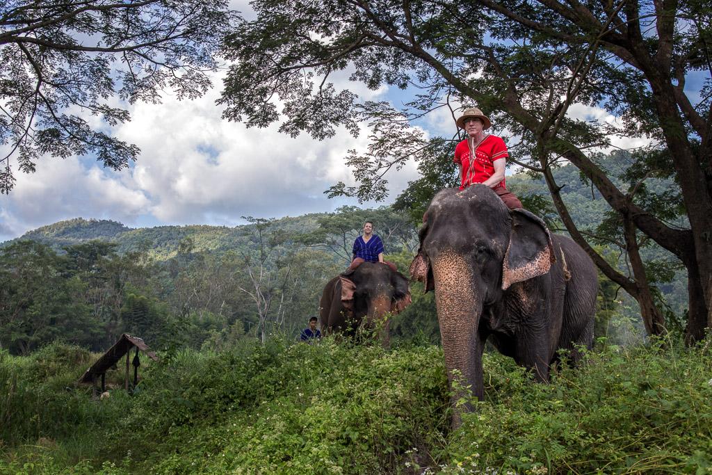 Elephant mahout, Thailand