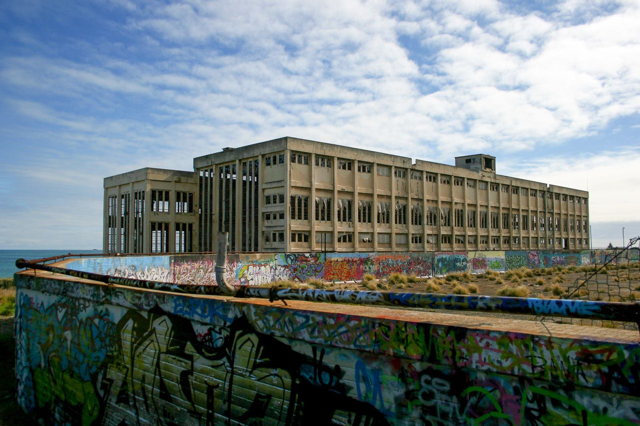 Abandoned power station in Australia