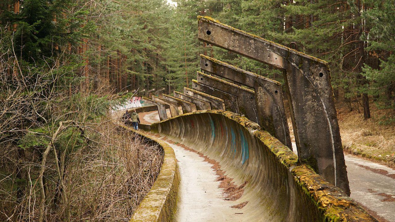 abandoned olympic track