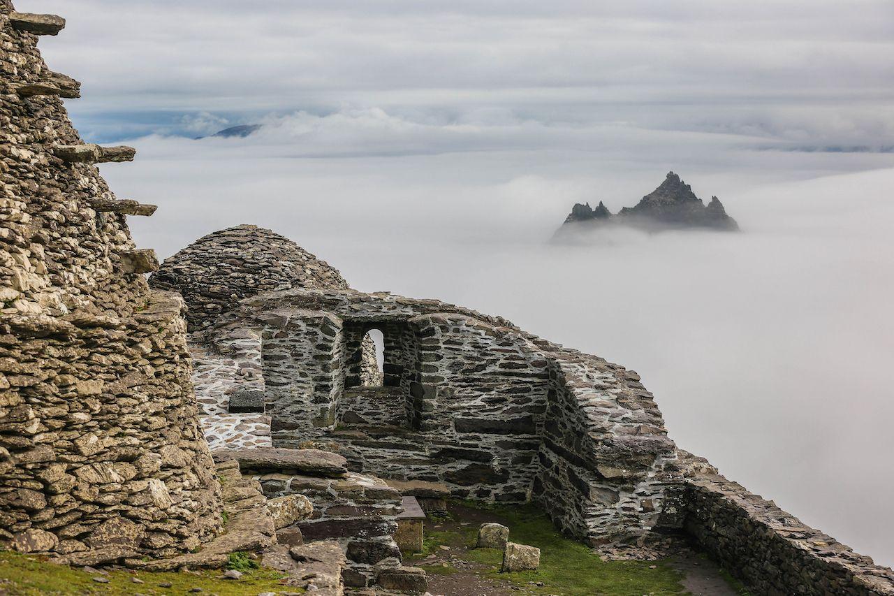 Abandoned monastery in Ireland