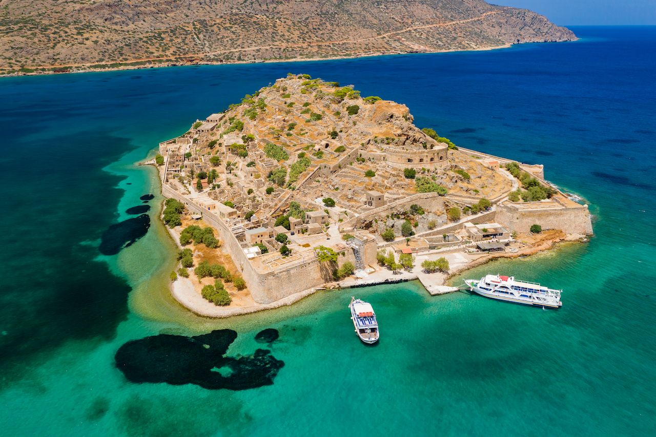 Abandoned Venetian Fortress in Crete