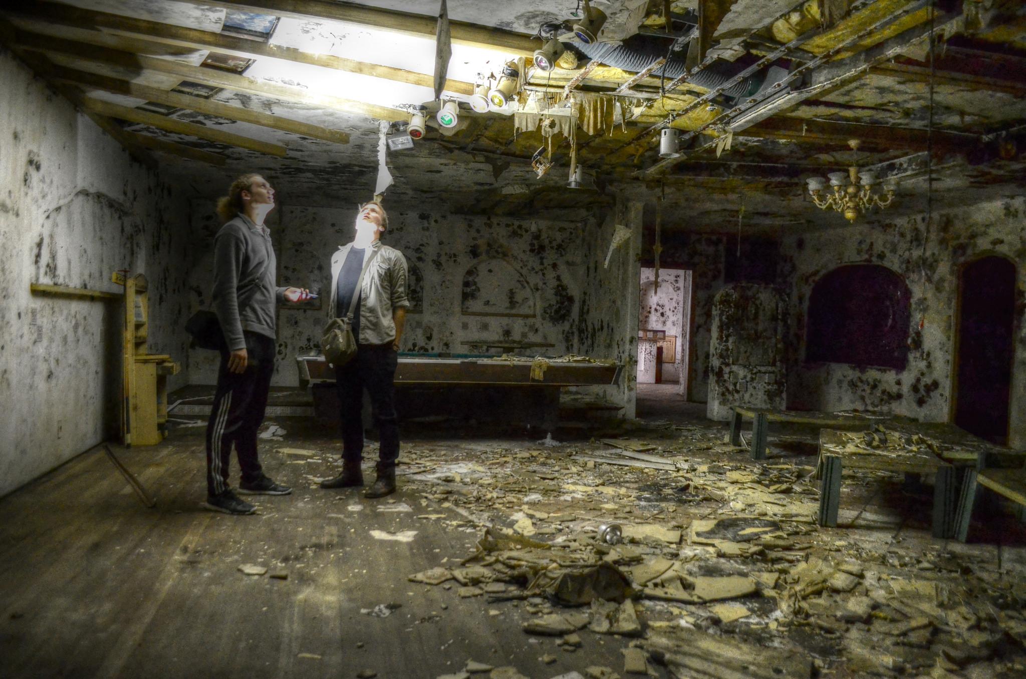 Inside The Eerie Abandoned Buildings Of Jeju Island South Korea