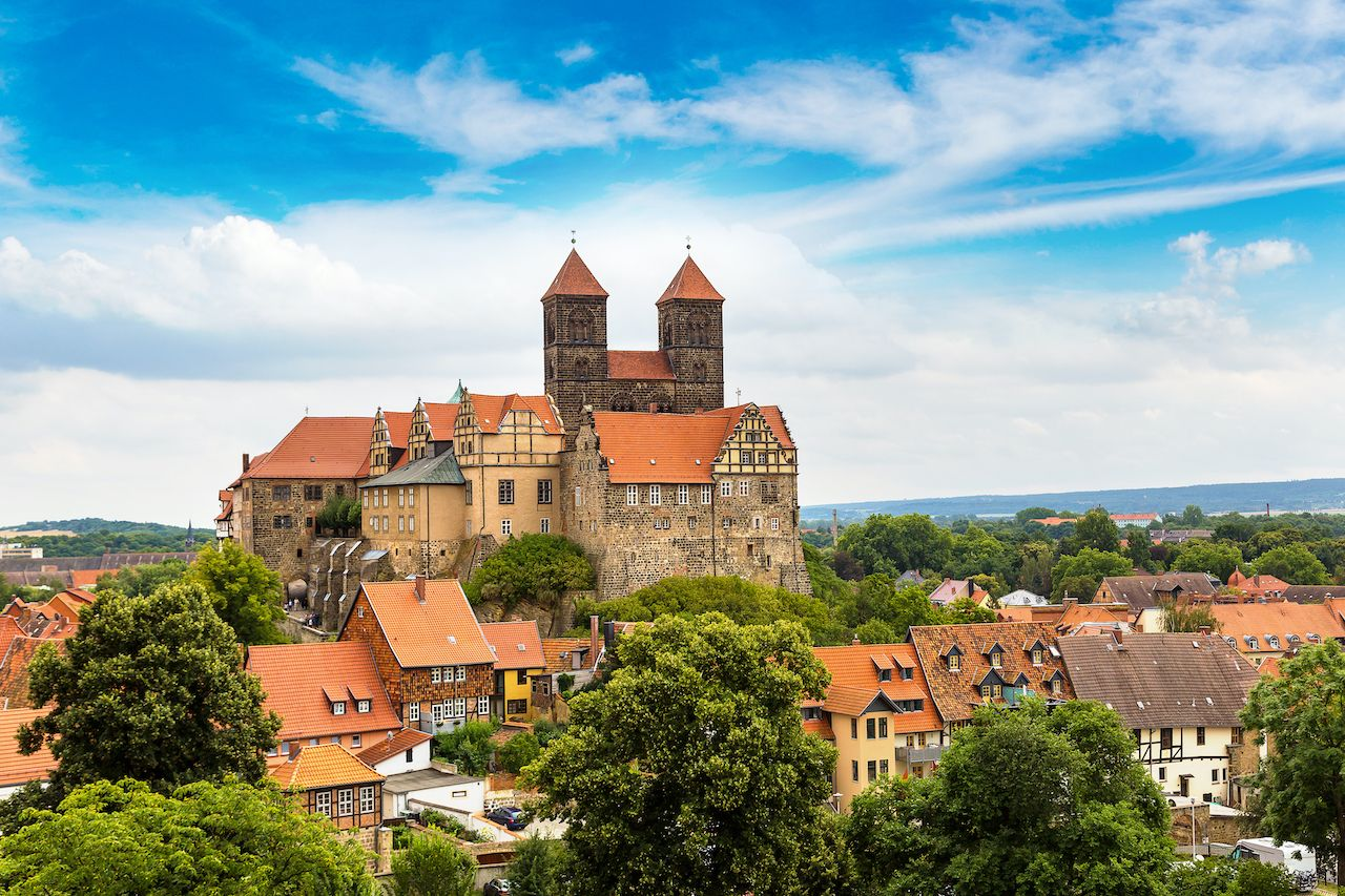 Quedlinburg, Germany, small towns in Europe