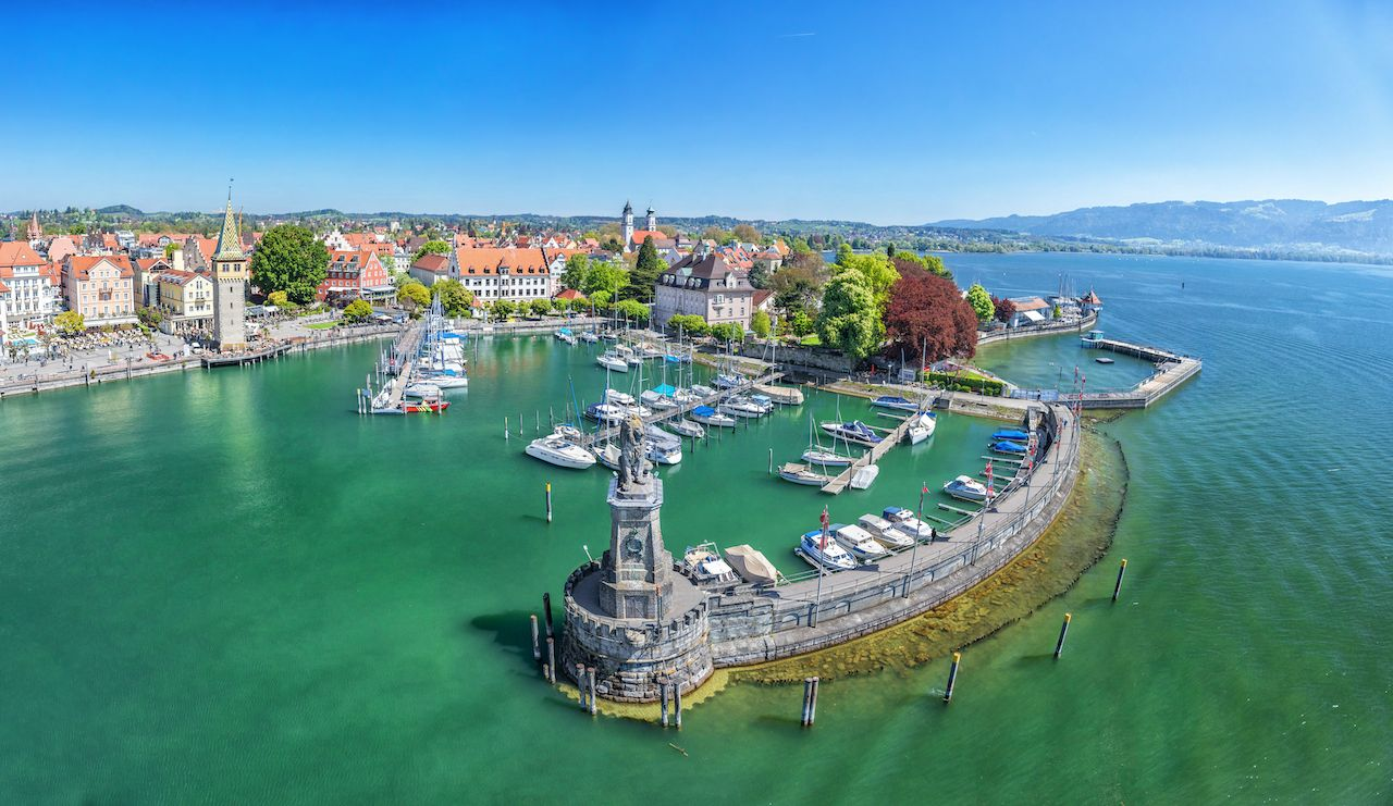 Lindau, Germany, small towns Europe