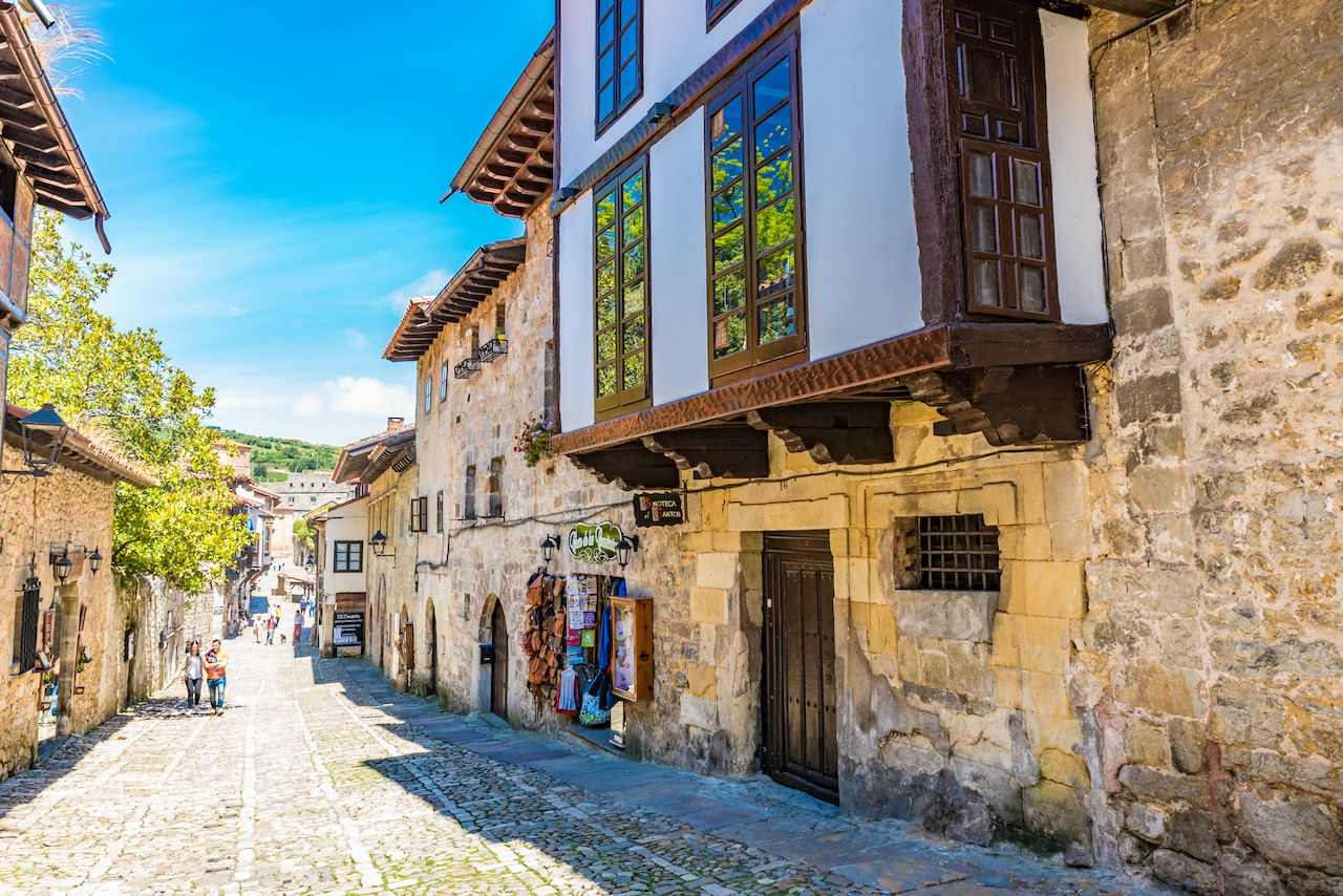 Santillana del Mar, Spain small towns Europe