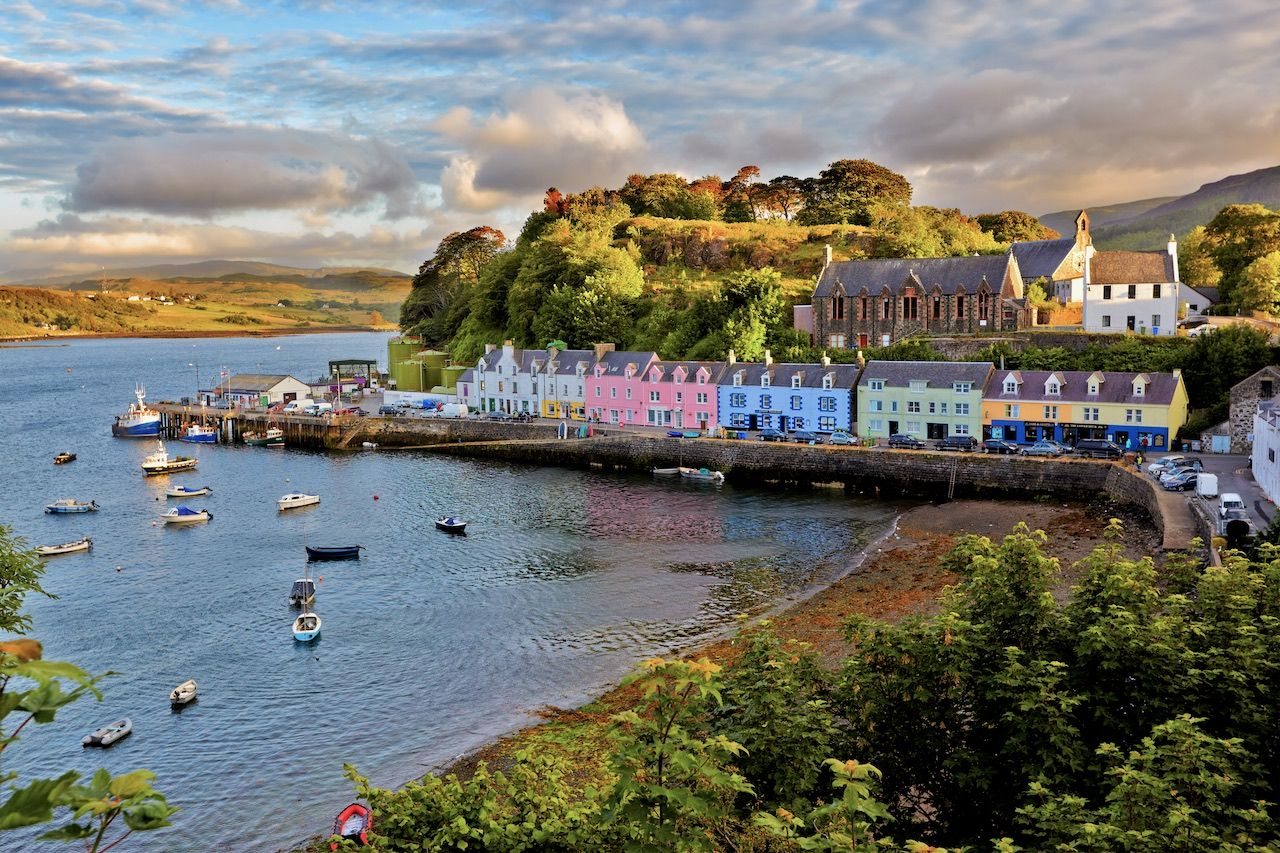 Portree, Scotland, small towns Europe