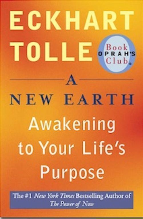 A New Earth by Eckart Tolle, best spiritual books