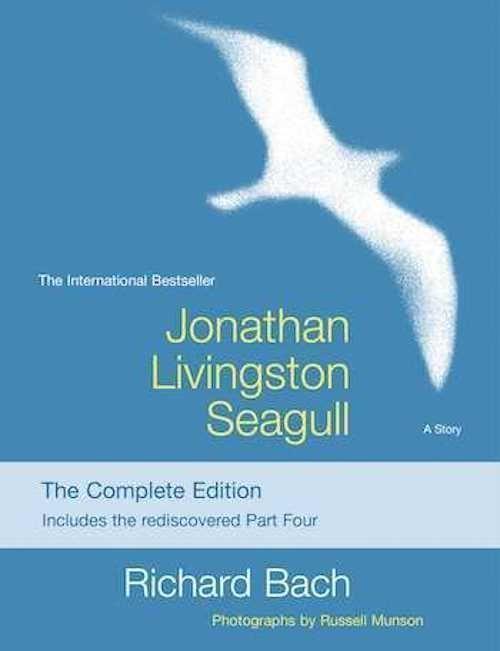 Jonathan Livingston Seagull by Richard Bach, best spiritual books