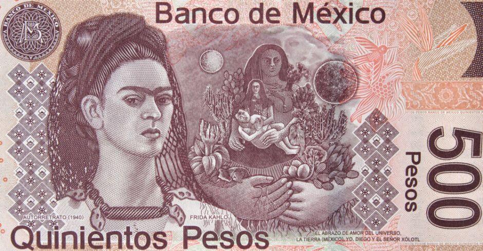Frida Kahlo painting The loving embrace of the Universe