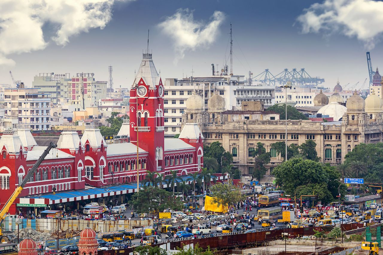 Chennai-india-best-vegan-cities
