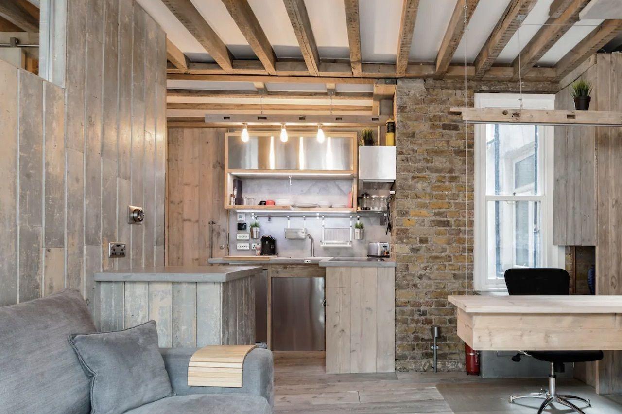wood-brick-suite-heart-soho-london-airbnbs, London Airbnbs