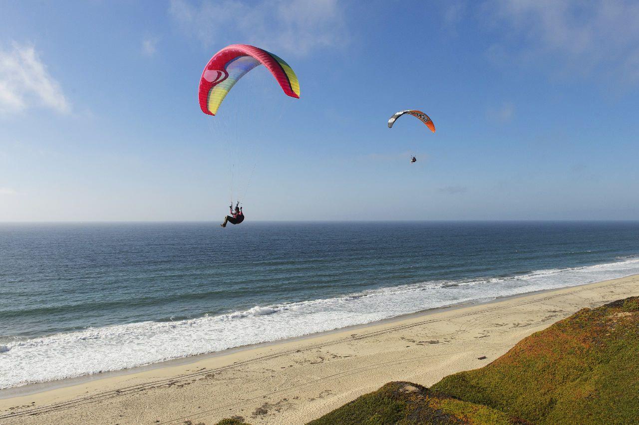 Marina paragliding Monterrey Ca