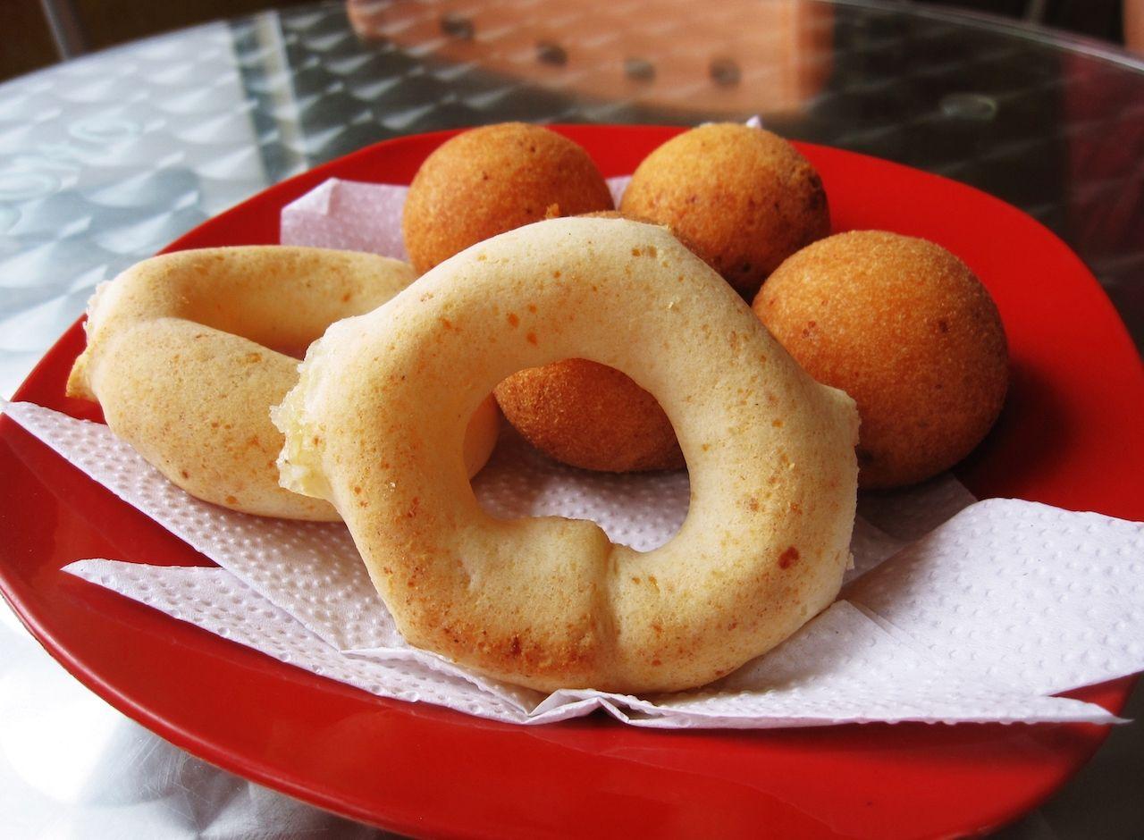 pan de yuca, Colombian food