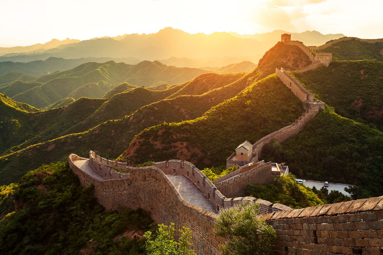 Great Wall of China 7 wonders of the world 2019