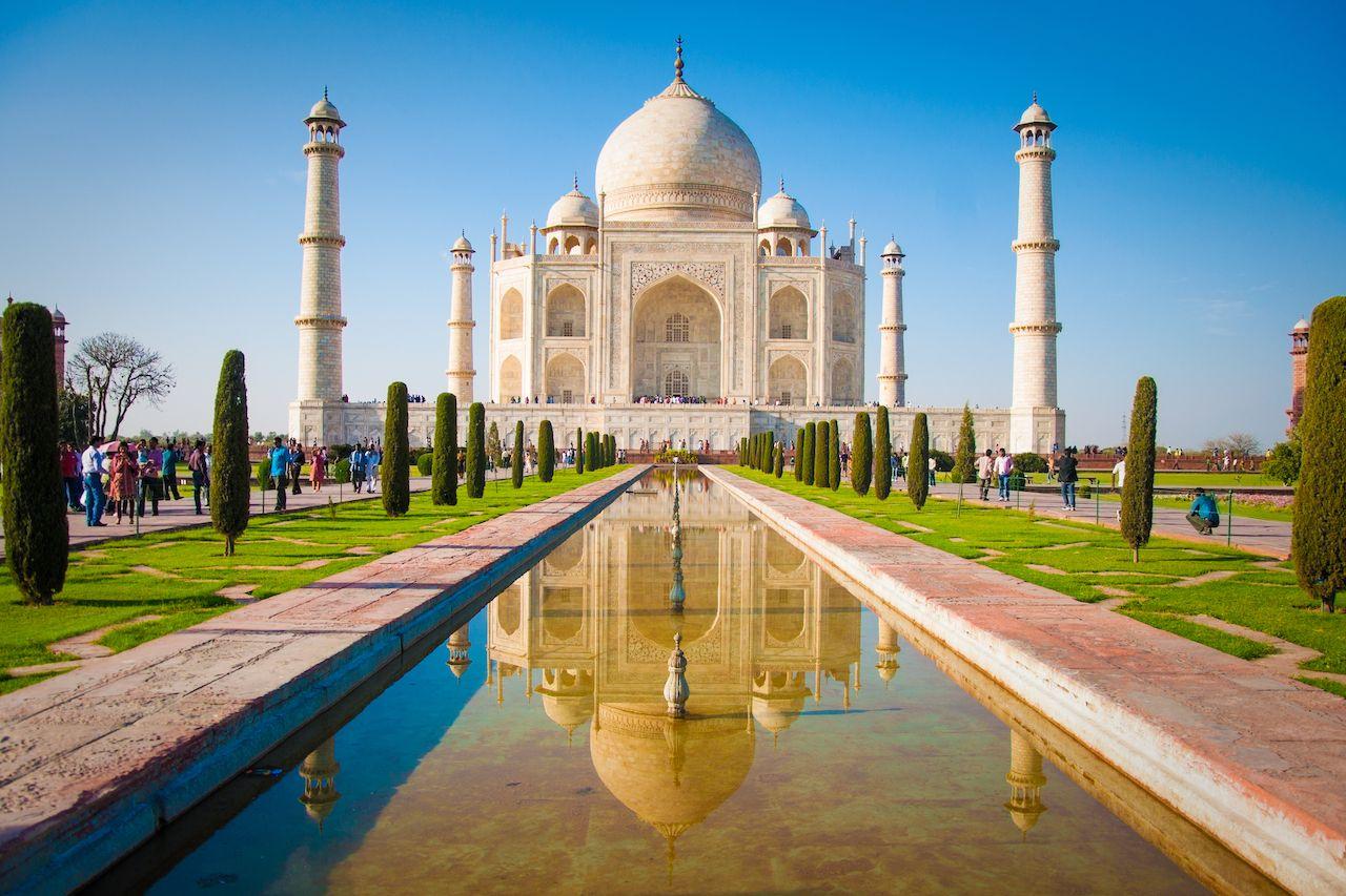 Taj Mahal 7 wonders of the world 2019