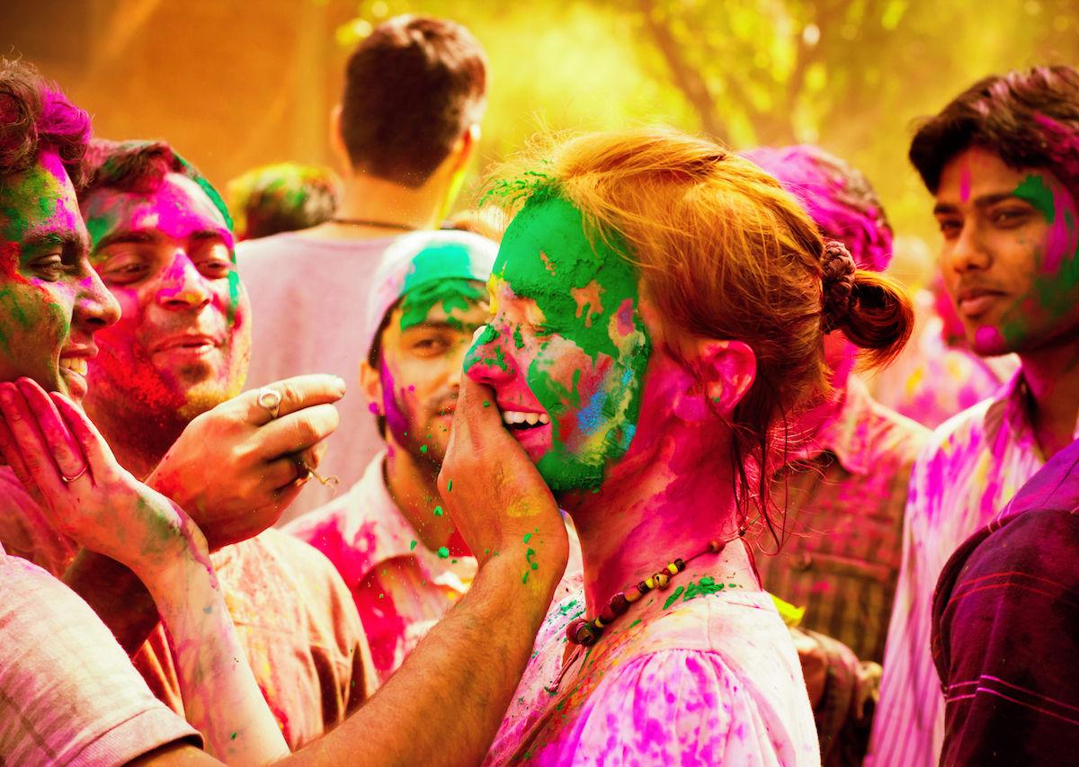 colorful festival