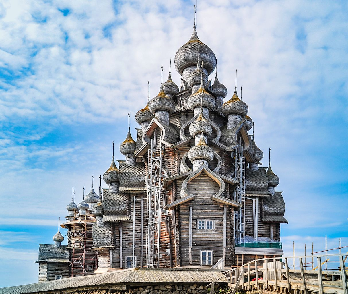 Church of the transfiguration Amazing Russian churches