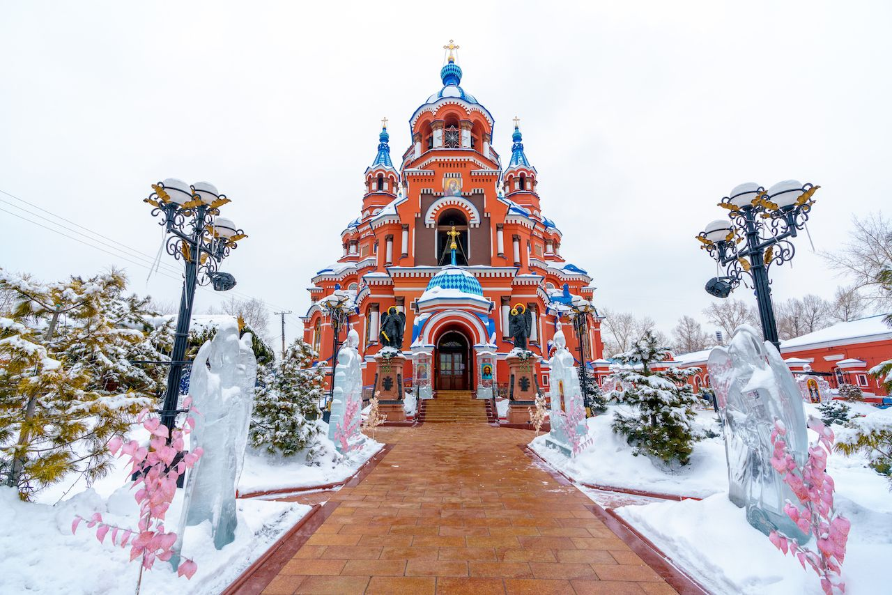 Irkutsk Church Amazing Russian churches