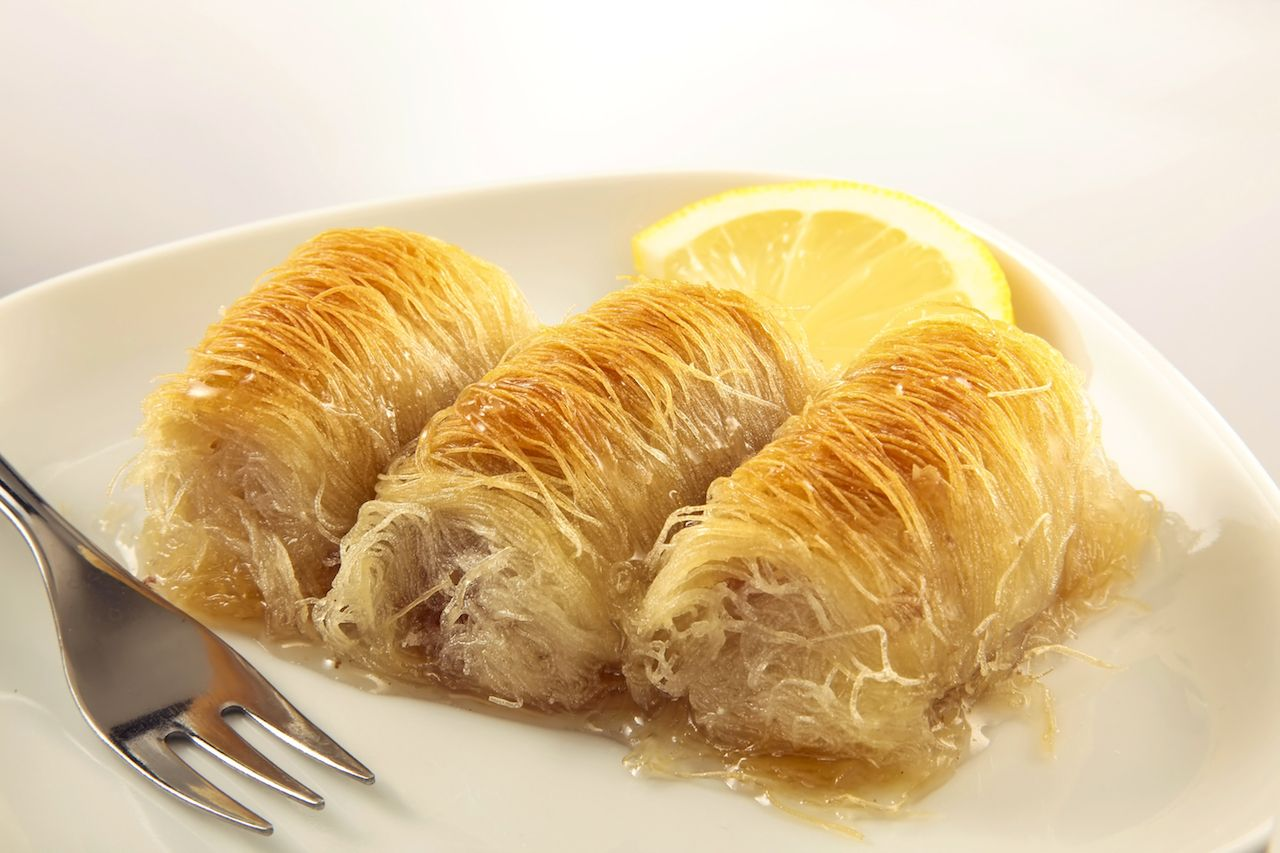 Kataifi, a Greek dessert