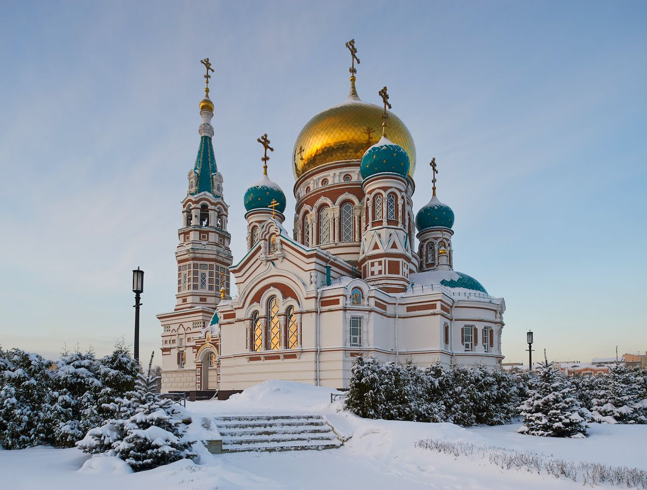 Omsk Church Russia Amazing Russian churches