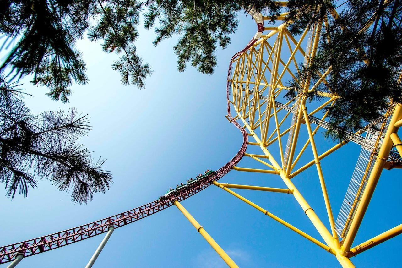 Cedar Point roller rides