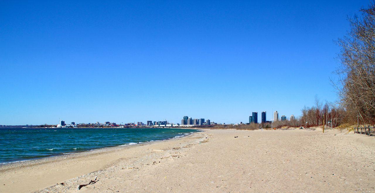 Hanlan's Point Beach in Canada nude beach