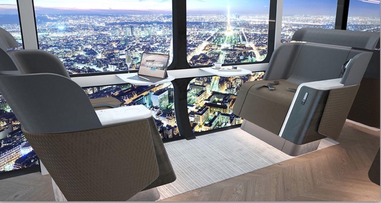 Hybrid Air Vehicle Airlander 10 Interior for 90 passengers 3, Airlander 10 Hybrid Air Vehicle