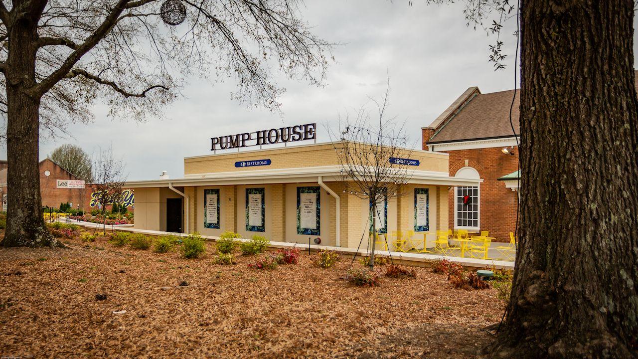 Pump-House-Bathroom, Planet-Word-Bathroom, bathroom