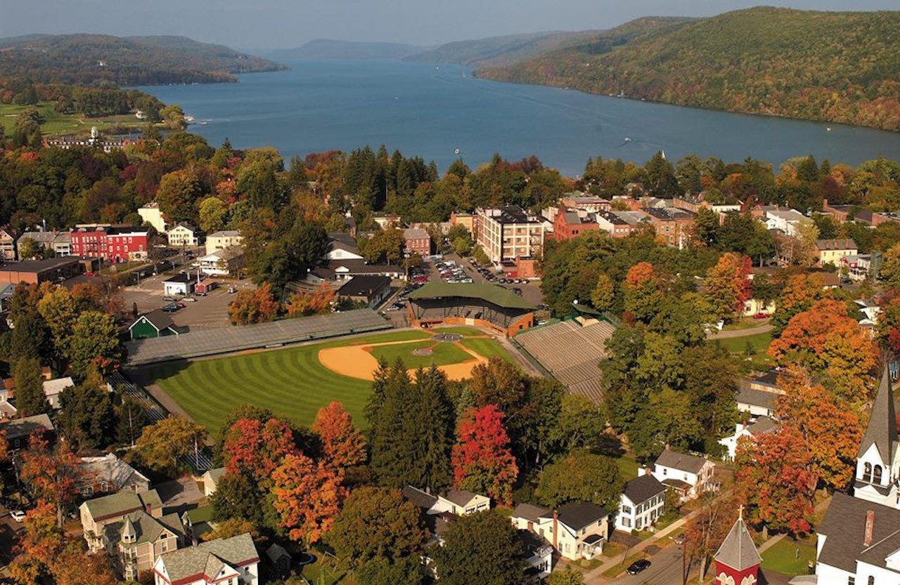 Cooperstown, NY on a fall weekend getaway from New York City