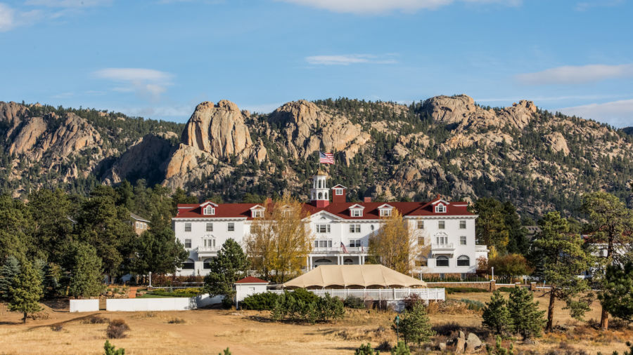 Estes Park's The Stanley Hotel from The Shining