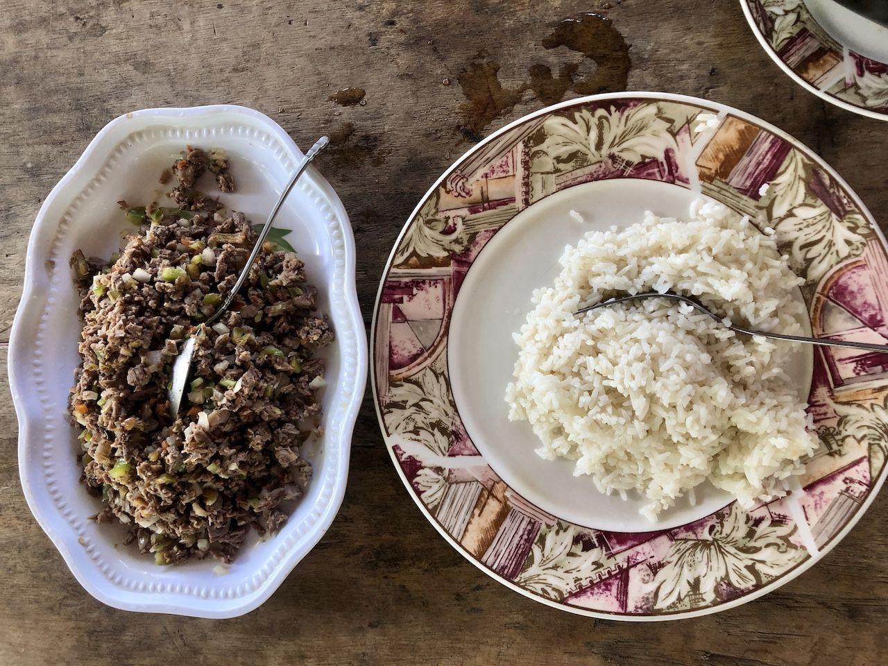Salpicon Nicaraguan food
