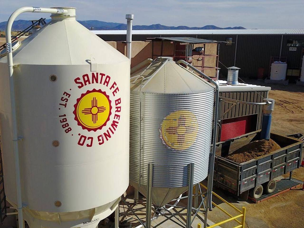 Santa Fe Brewing Company is one stop on a bicycle and beer tour of Santa Fe