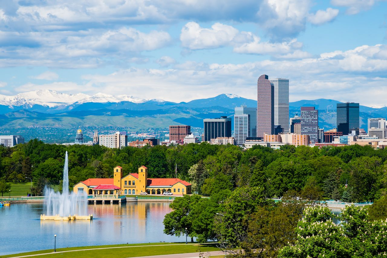 Denver, Colorado downtown recreational marijuana laws