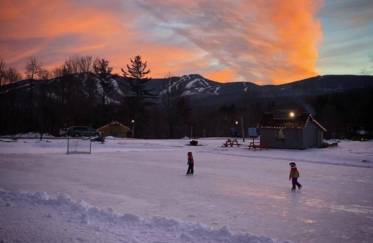The Foundry skate rink