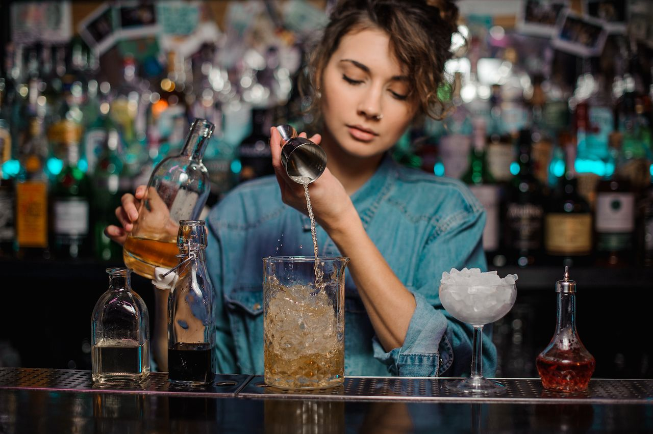 Rites of passage for bartenders