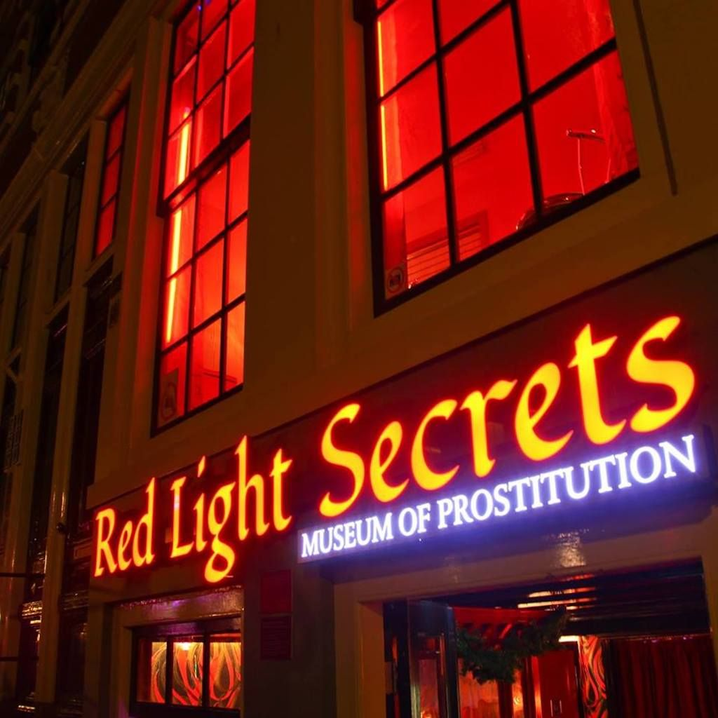 Museum of Prostitution in Amsterdam, red light district amsterdam