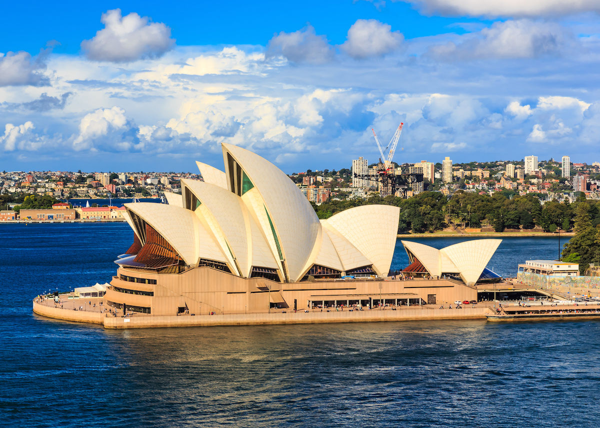 Alternative designs for the Sydney Opera House