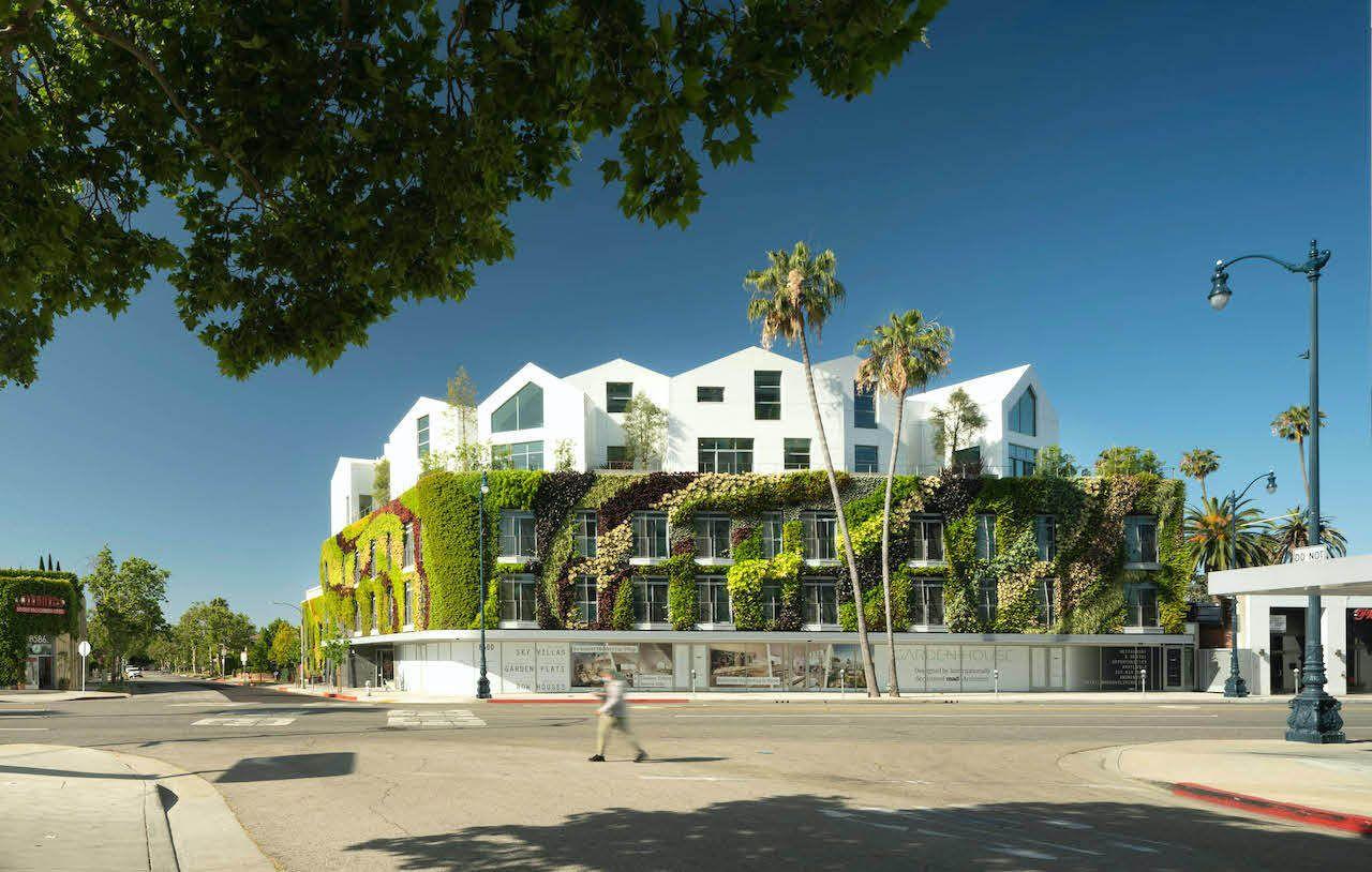Gardenhouse greenwall Beverly Hills