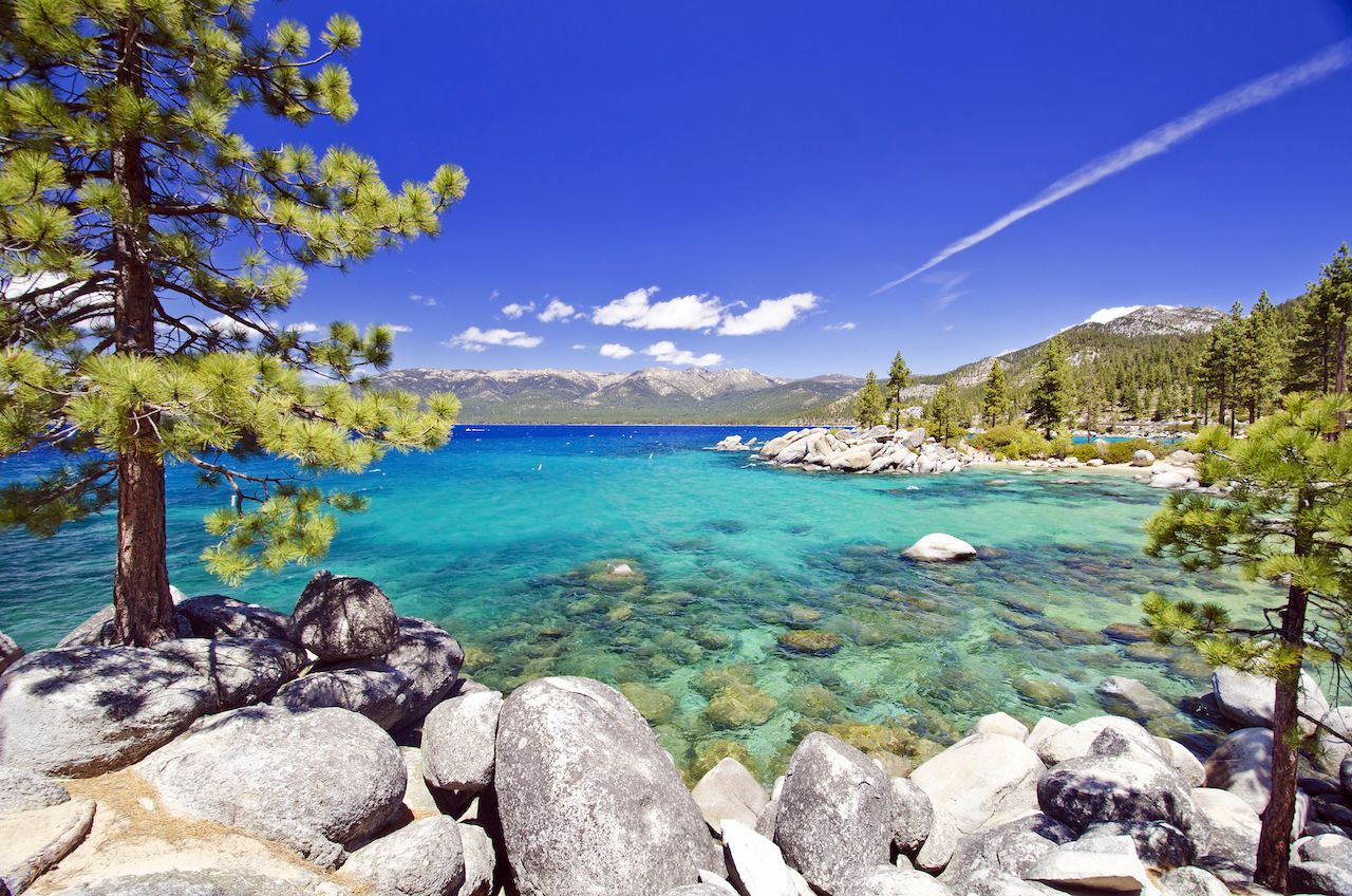 Lake tahoe, clearest water in the us