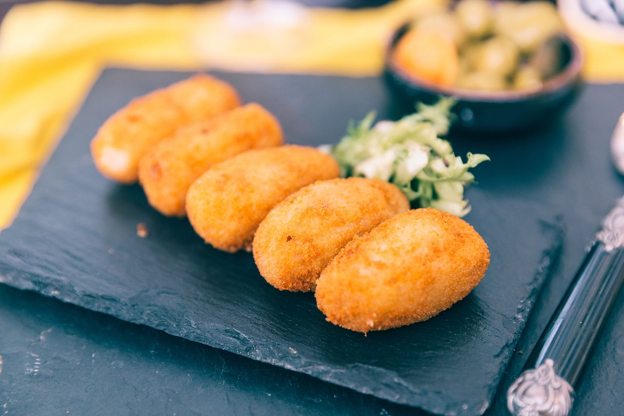 Croquettes cuban food
