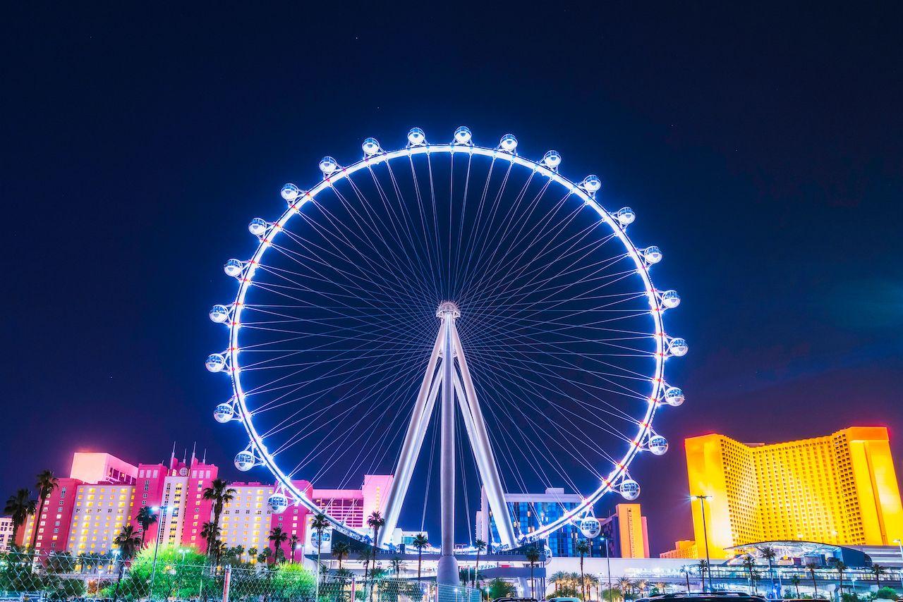 Ferris wheel in Las Vegas