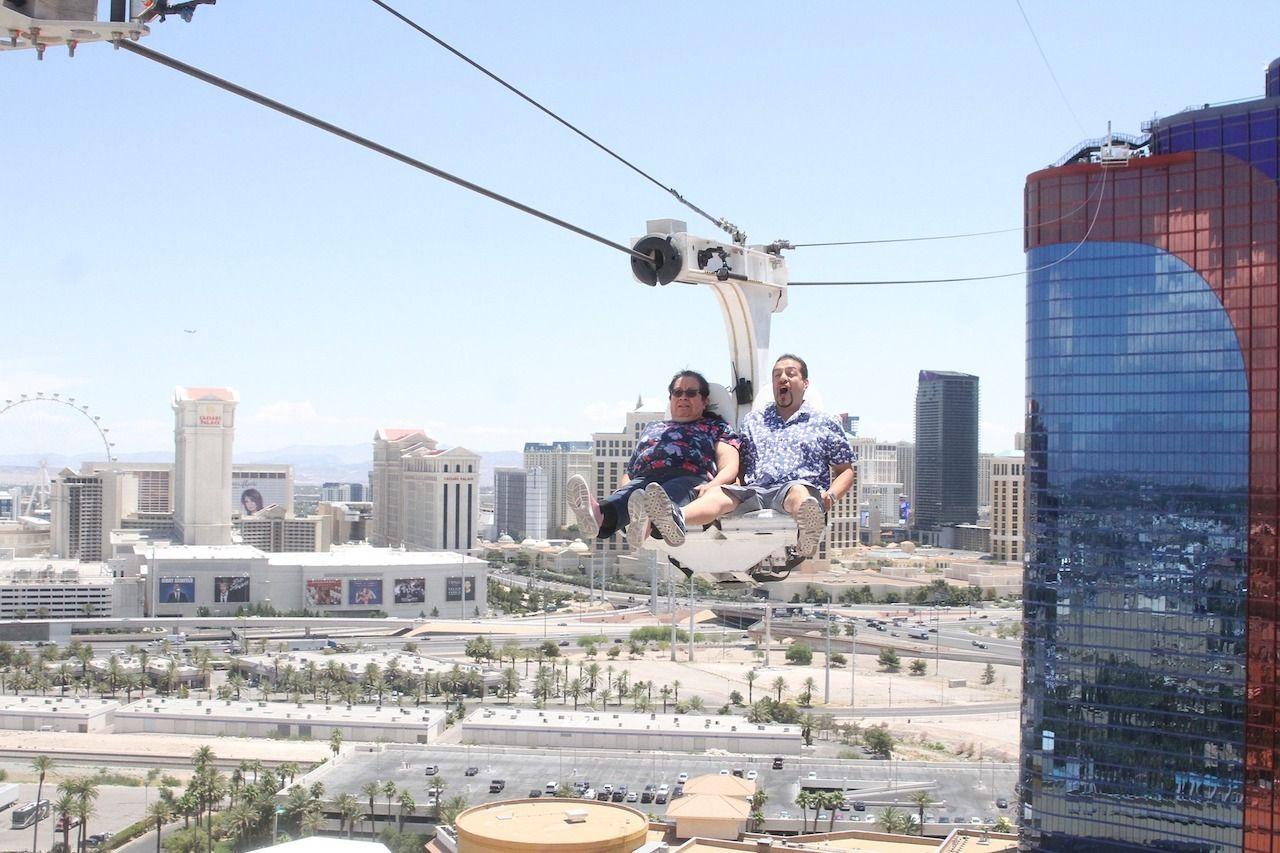 Rio Zipline in Las Vegas