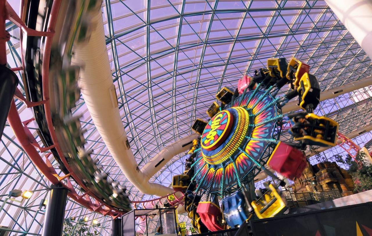 Roller coaster in Las Vegas
