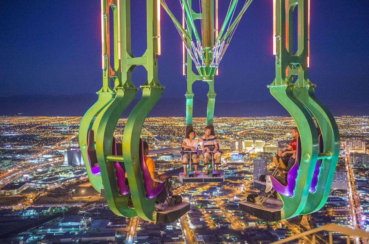 Las Vegas Roller Coasters And Rides To Try